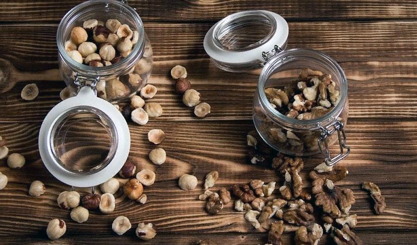 хранение очищенных орехов