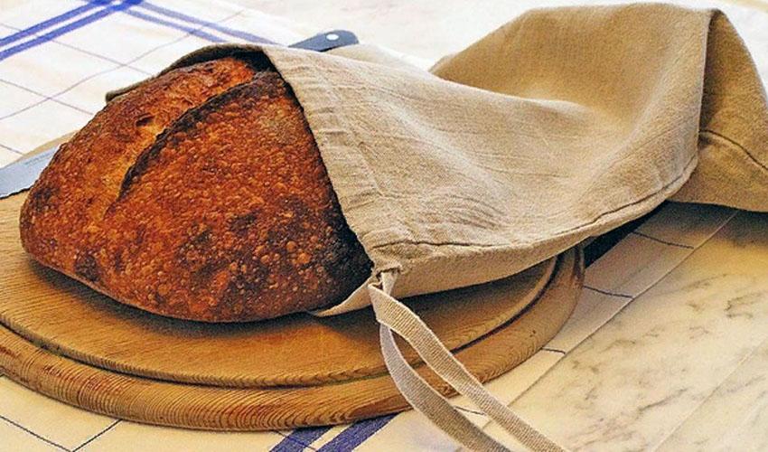 хлеб в мешочке