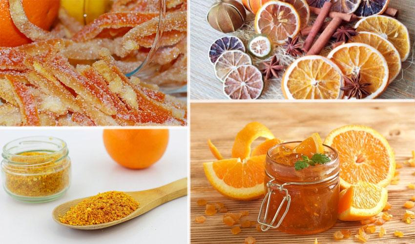 другие заготовки из апельсина