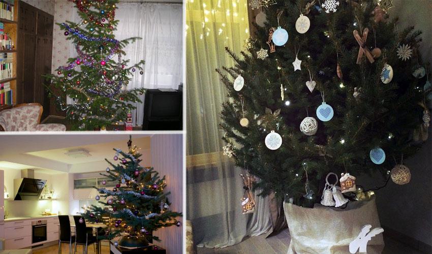 елка в квартире