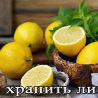 Хранение лимона в домашних условиях (в холодильнике, при комнатной температуре, в морозилке)