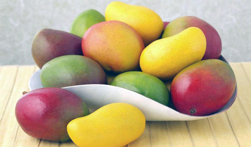 манго в блюде