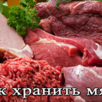 Срок, условия и температура хранения мяса в домашних условиях