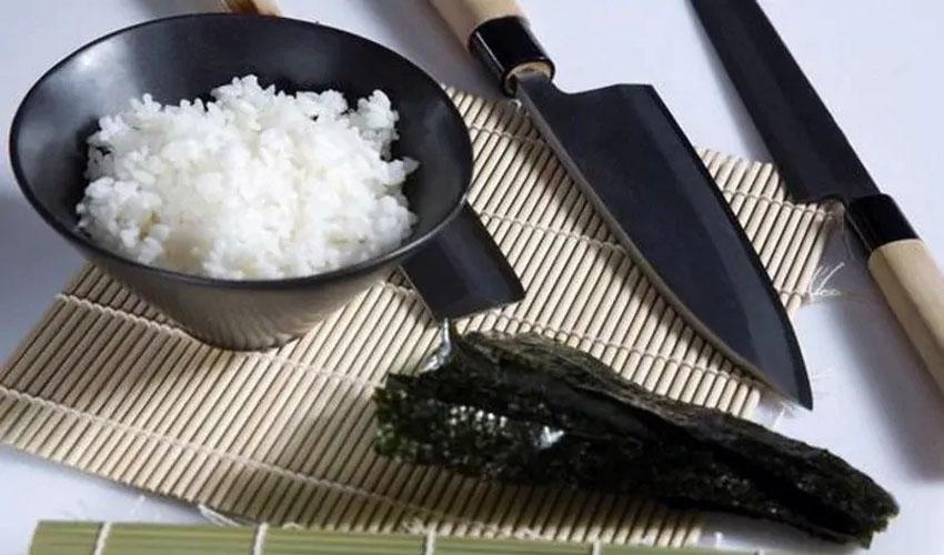 как хранить рис для суши
