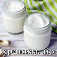 Срок и условия хранения йогурта в холодильнике (домашнего, питьевого)