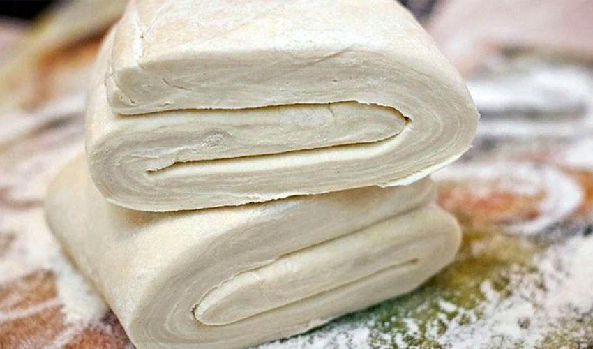 хранить слоенное тесто