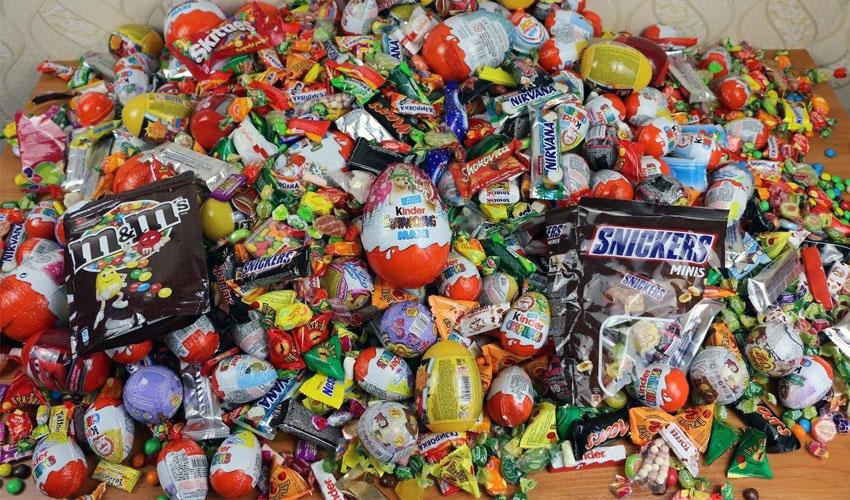 развесные конфеты
