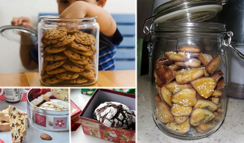 в чем хранить печенье
