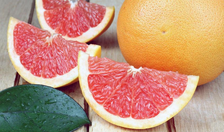 хранение разрезанного грейпфрута