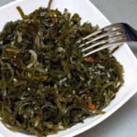 Условия и срок хранения морской капусты (в холодильнике, морозилке)