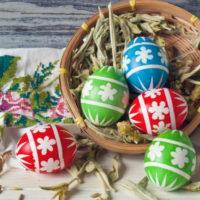 Хранение пасхальных яиц