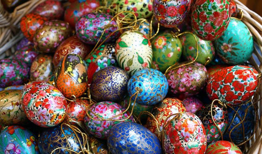 как хранить пасхальные яйца