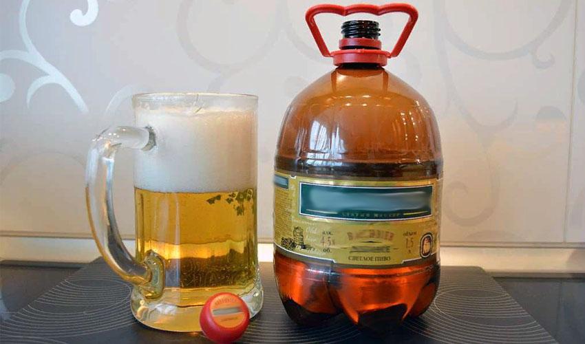 пиво в бутылке