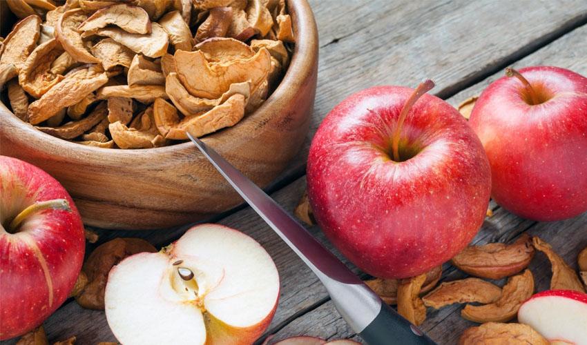 сухие яблоки