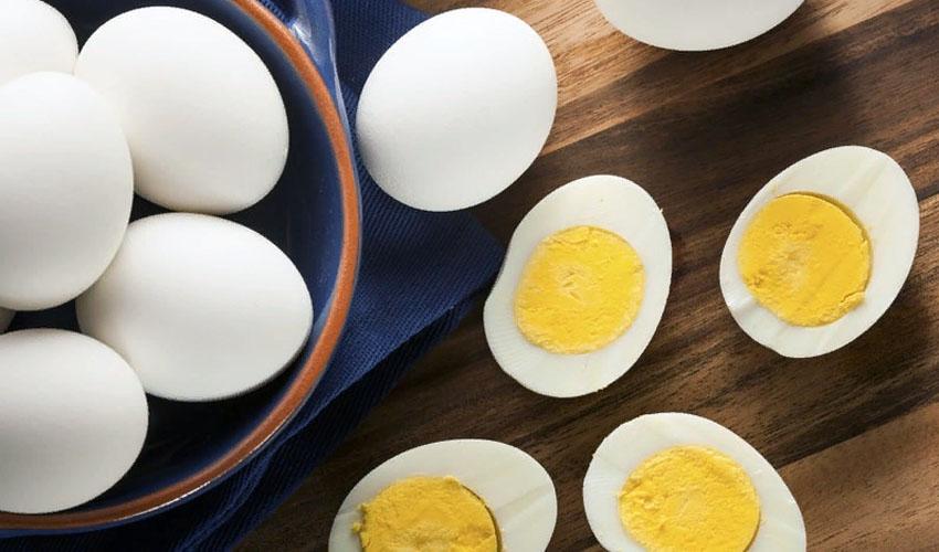 хранение вареных яиц