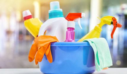 Условия и правила хранения бытовой химии
