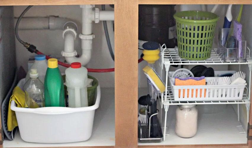 хранение моющих