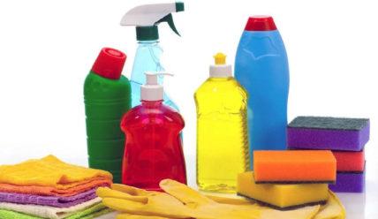 Сроки, условия и правила хранения моющих средств