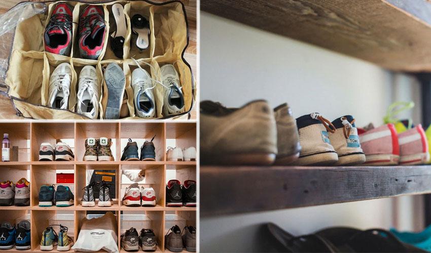 хранить кроссовки