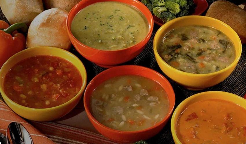 виды супов