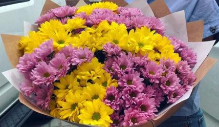 Что сделать чтобы хризантемы дольше стояли в вазе с водой