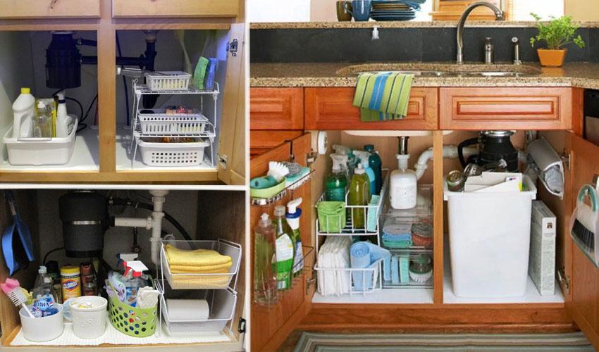 хранение инвентаря на кухне