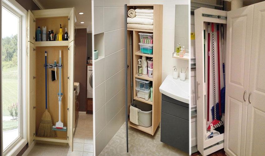 хранение инвентаря для уборки дома
