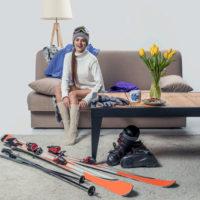 Хранение лыж летом (дома, на балконе, в гараже)
