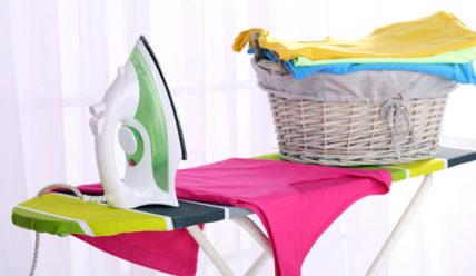 Организация хранения утюга и гладильной доски в маленькой квартире