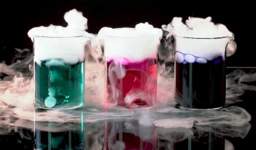 применение сухого льда
