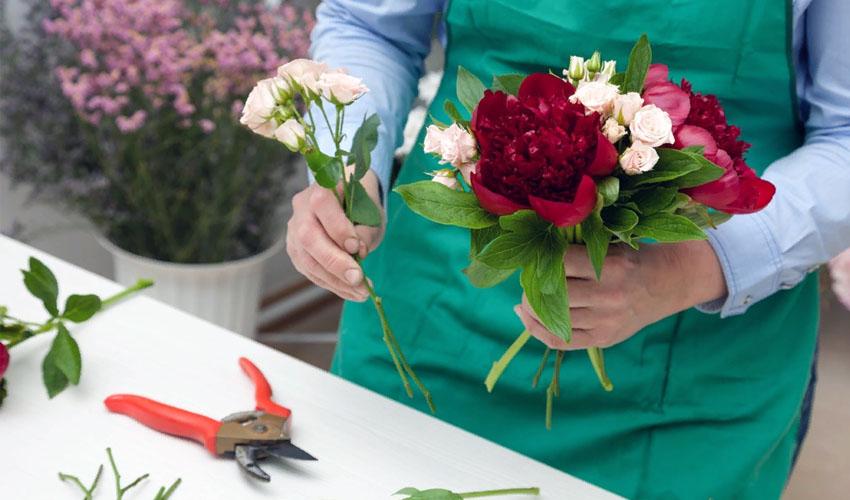 хранение цветов в вазе