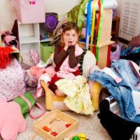 Хранение детской одежды — идеи и практические решения