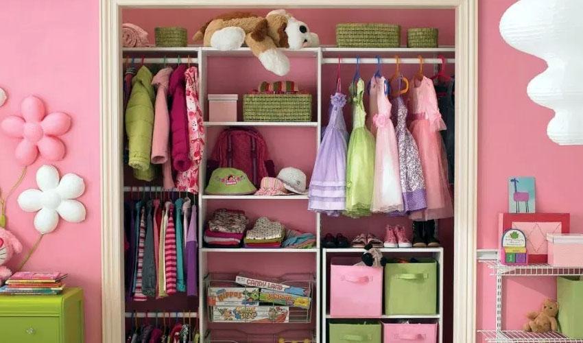хранение одежды ребенка