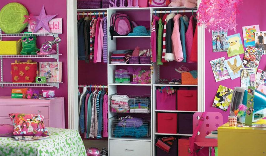 детская одежда хранение