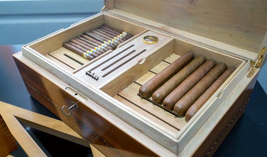 хранение сигар в хьюмидоре