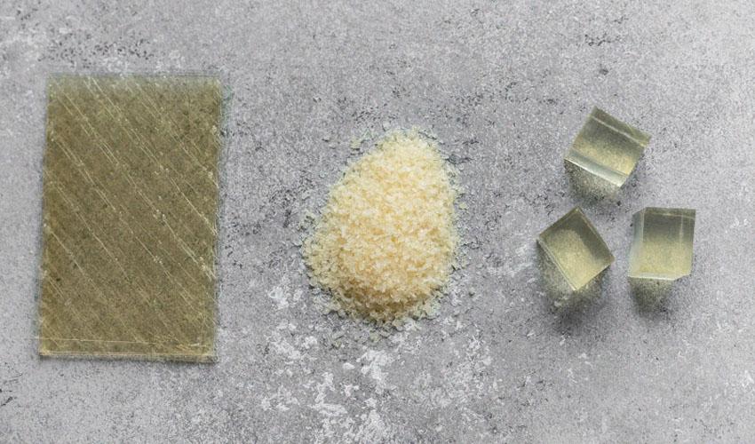 виды желатина