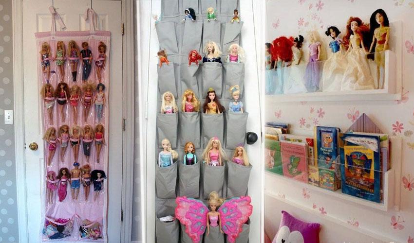 хранить кукол барби