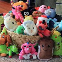 Хранение мягких игрушек в детской комнате