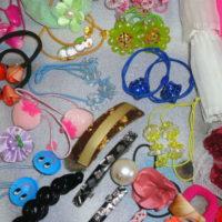 Хранение детских резинок и заколок для волос