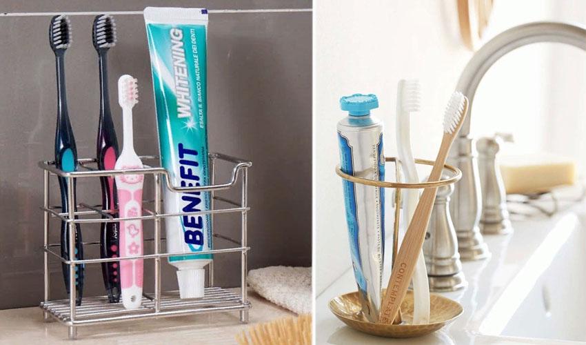 хранение открытой зубной пасты
