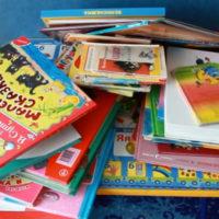 Хранение книг в детской комнате
