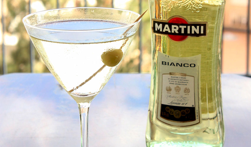 хранение открытого мартини