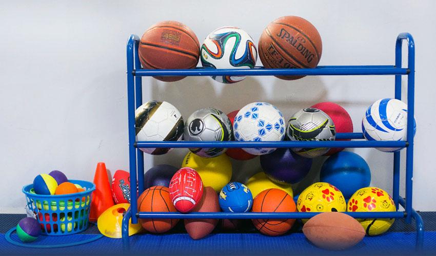 хранить мячи дома