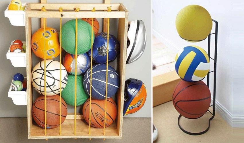 способы хранения мячей