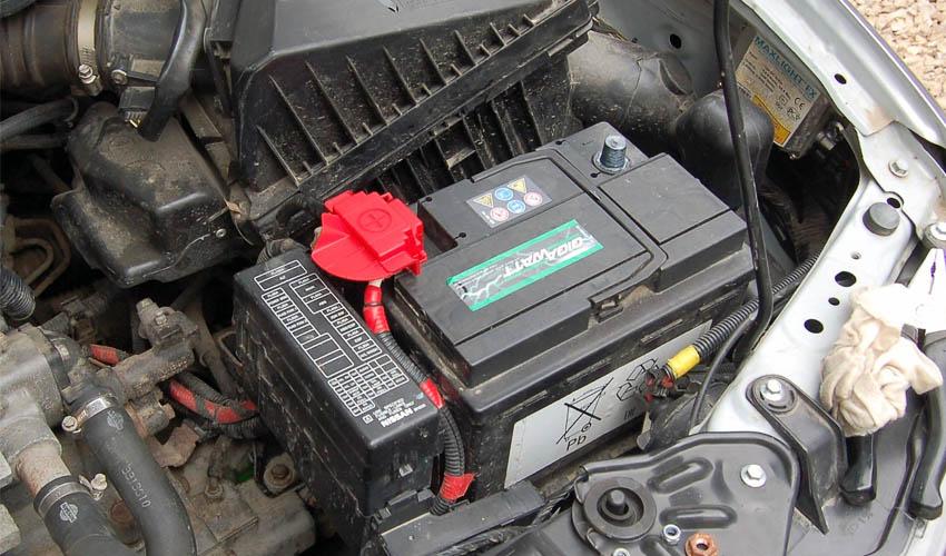 хранение аккумулятора зимой