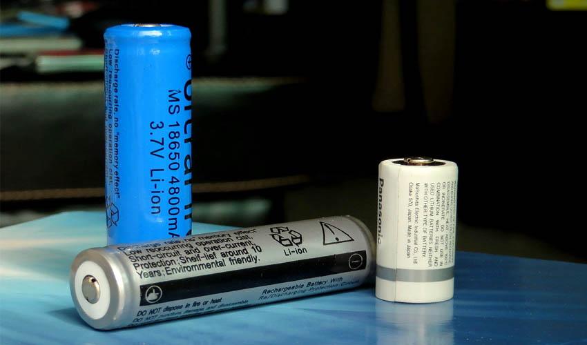 хранение литий ионных батареек