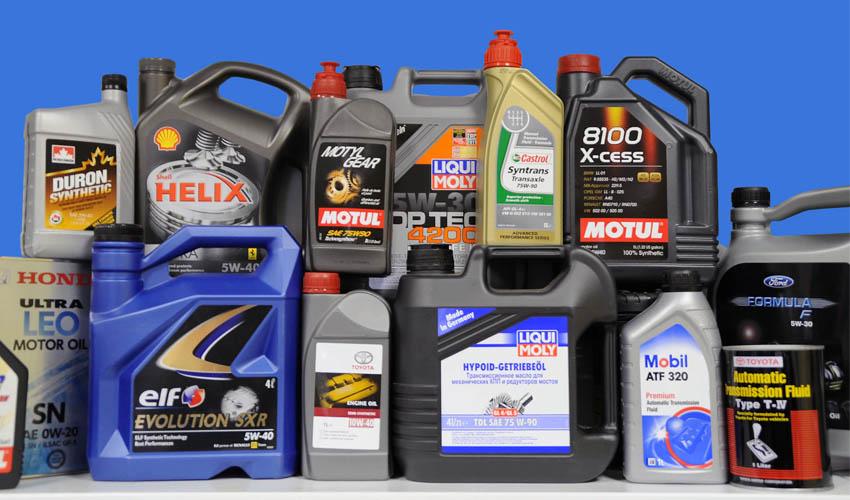 как хранить моторное масло