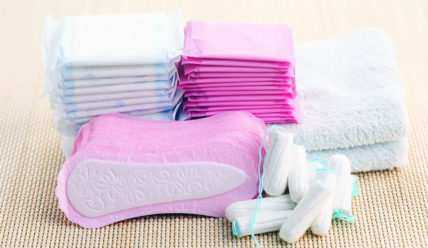 Организация хранения прокладок в домашних условиях