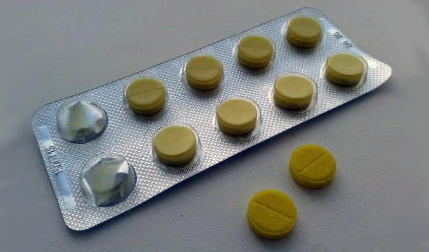 хранение фурацилина в таблетках