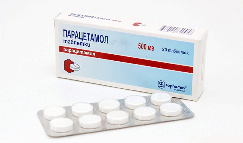 хранение парацетамола